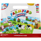 Farmyard 4-In-1 Puzzle Set image number 1