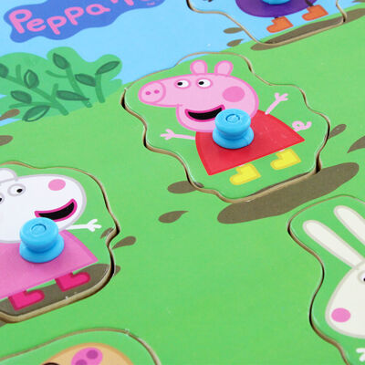 Peppa Pig Wooden 8 Piece Jigsaw Puzzle image number 3