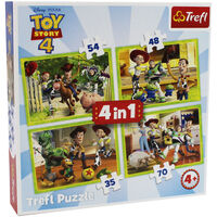 Toy Story 4 4-in-1 Jigsaw Puzzle Set