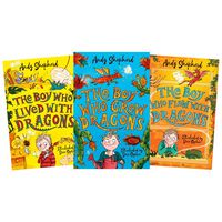 The Boy Who Grew Dragons: 3 Book Collection