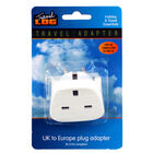 UK to Europe Travel Plug Adaptor image number 1