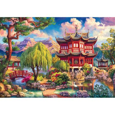 Secret Temple 1000 Piece Jigsaw Puzzle image number 2