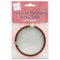 Glow In The Dark Sticky Tape: Pink