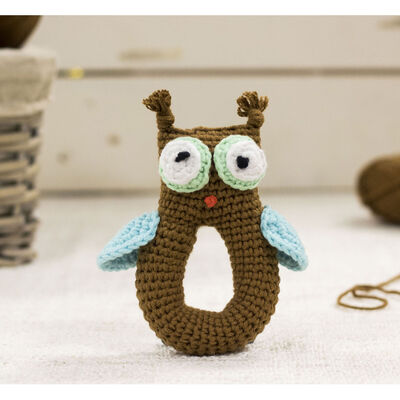Cute Companions Miniature Handheld Crochet Kit - Olly the Owl image number 2
