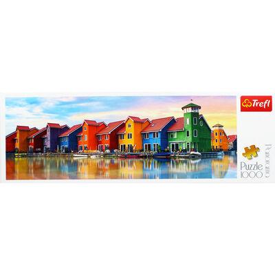 Groningen Netherlands Panorama 1000 Piece Jigsaw Puzzle image number 2