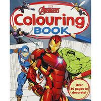 Marvel Avengers Colouring Book