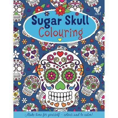 Sugar Skull Colouring image number 1