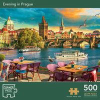 Evening in Prague 500 Piece Jigsaw Puzzle