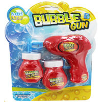 Bubble Gun With Solution - Assorted