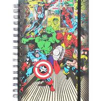 A5 Marvel Mix Notebook