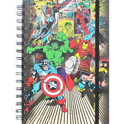 A5 Marvel Mix Notebook image number 1