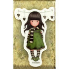 Santoro Rubber Stamp - Number 26 The Scarf image number 2