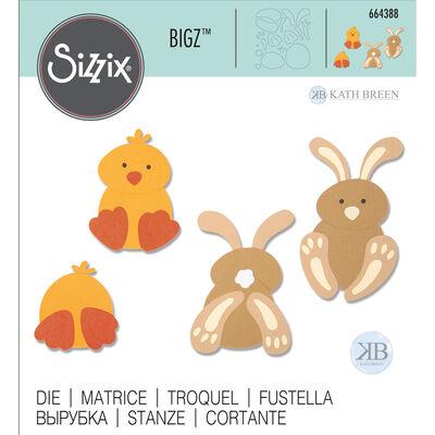 Spring Friends Sizzix Bigz Die Set image number 1
