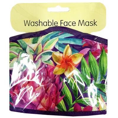 Summer Foliage Face Mask image number 1