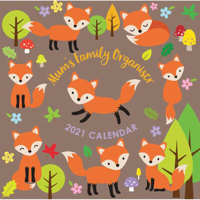 2021 Calendar: Mums Family Organiser image number 1