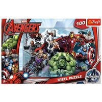 Marvel Avengers 100 Piece Jigsaw Puzzle