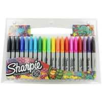 Sharpie Fine Point Permanent Markers - Pack of 20