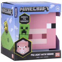 Minecraft Pig Lamp