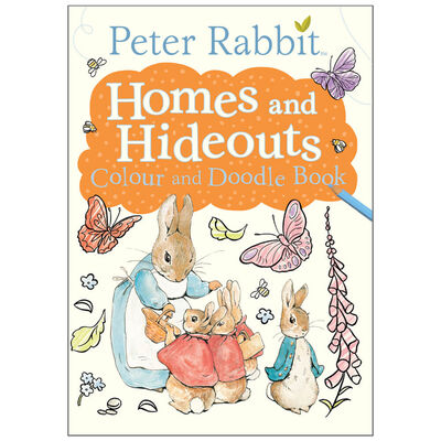 Peter Rabbit: Homes and Hideouts Colour and Doodle Book image number 1