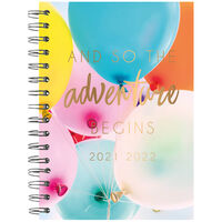 A5 Adventure Begins 2021-2022 Week to View Diary