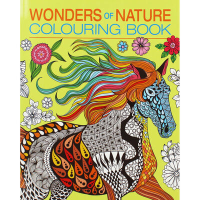 Wonders of Nature Colouring Book image number 1