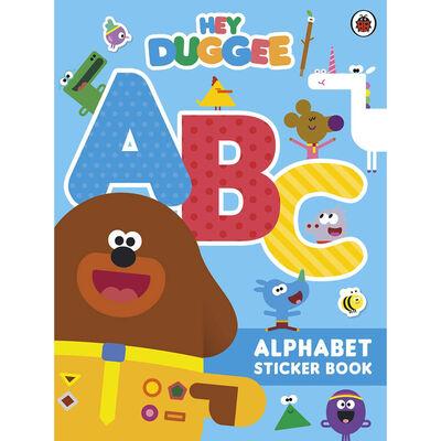 Hey Duggee: ABC: Alphabet Sticker Book image number 1