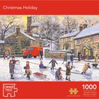 Christmas Holiday 1000 Piece Jigsaw Puzzle image number 1