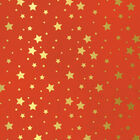 Gold Foil Stars Decoupage Papers - 3 Sheets image number 2