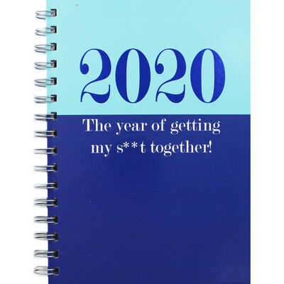 A5 Wiro My Sh-t Together 2020 Week to View Diary image number 1