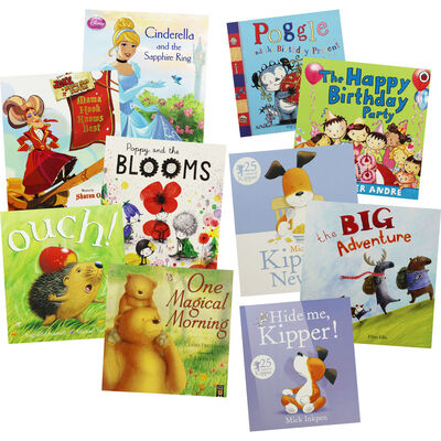Birthday Wishes: 10 Kids Picture Books Bundle image number 1