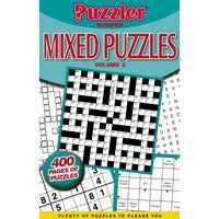 Puzzler Bumper Mixed Puzzles Book