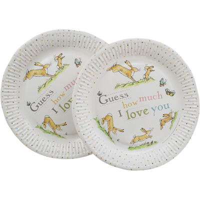 Guess How Much I Love You Party Paper Plates - Pack of 8 image number 2