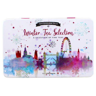 Seasonal Winter Tea Selection Tin image number 2