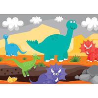 Dinosaur Discovery 4-in-1 Jigsaw Puzzle Set