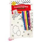 Colour Your Own Unicorn Drawstring Bag image number 1