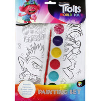 Trolls Painting Set