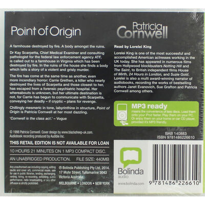 Point of Origin: MP3 CD image number 2