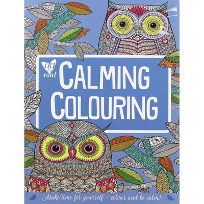 Art and Soul Calming Colouring Book image number 1