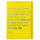 A5 Case Bound PU God So Loved the World Notebook image number 1