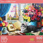 View of Eiffel Tower 500 Piece Jigsaw Puzzle image number 1