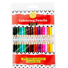 Mini Colour Pencils - Pack Of 36 image number 1