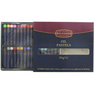 Boldmere Oil Pastels - Set of 32 image number 2