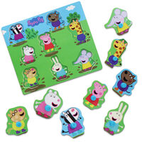 Peppa Pig Wooden 8 Piece Jigsaw Puzzle