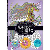 Magnificent Creatures and More: Kaleidoscope Colouring