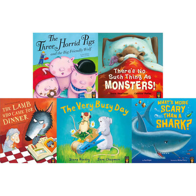 Funny Stories: 10 Kids Picture Books Bundle image number 3