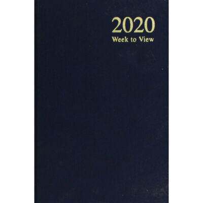A6 2020 Blue Week to View Diary image number 1