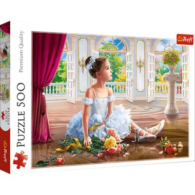 Little Ballerina 500 Piece Jigsaw Puzzle image number 1