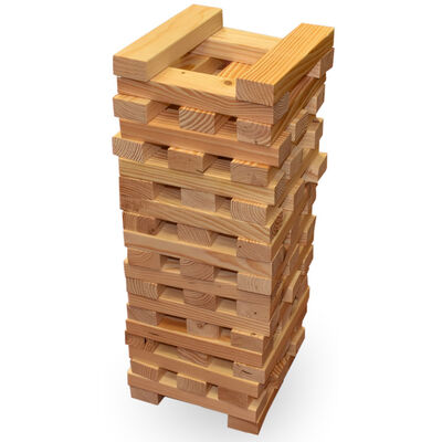 Giant Wooden Tumbling Tower image number 2