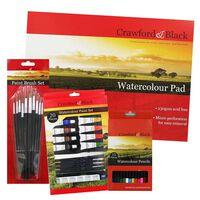 Watercolour Art Essentials Bundle