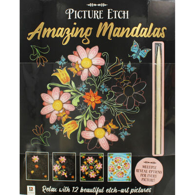 Picture Etch: Amazing Mandalas image number 1